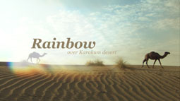 RAINBOW OVER THE KARAKUM